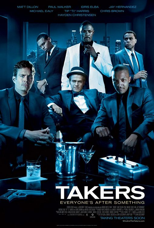 The criminal cast of Takers poses for a nice group mug shot.