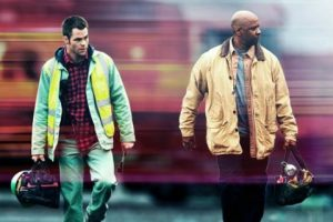 Chris and Denzel head out for another day of saving the universe.