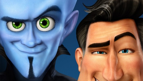 Megamind and Metro Man: The eyebrows have it.