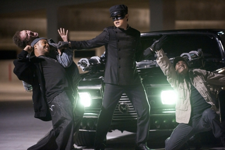 Jay Chou steals the show while beating up the bad guys.