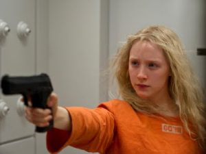 Hanna: not your average 16-year-old, even without the gun.