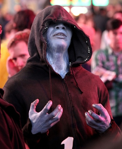 Electro pleading silently for respect. But this movie respects no one.