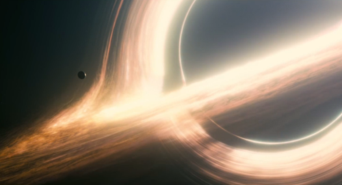 A black hole. Technically you shouldn't be able to see it, but that's no fun.