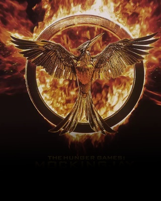 The Mockingjay. There's a neat little animation of this after the credits.