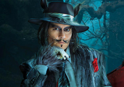 The Wolf. Remember, kids, never talk to strangers or Johnny Depp.