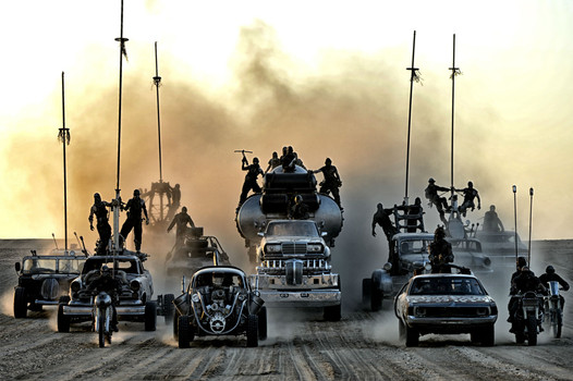 Immortan Joe & company on the prowl, aka Fast & Furious 287.