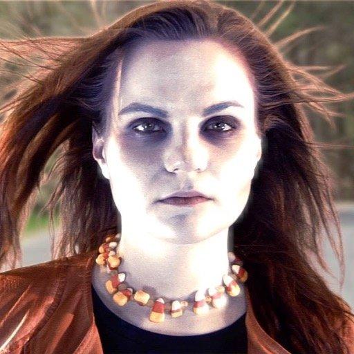 The Halloween Girl. Definitely creepy, but how dangerous she is is less certain.