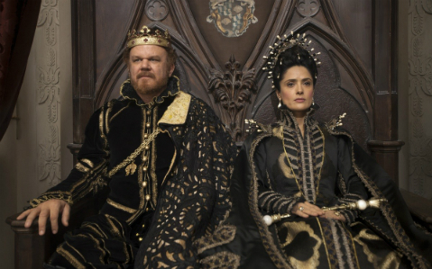 The king and queen of Longtrellis. Because you need some fairy-tale royalty.