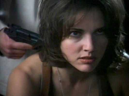 Cathryn held at gunpoint.