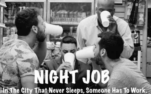 Local bodega employees initiate James into the bizarro world of the night shift.