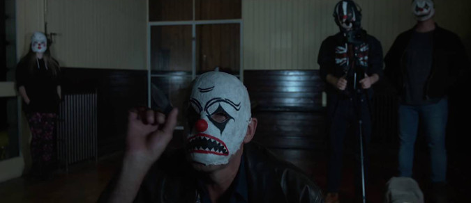 Jacob and crew. He really does give a frighteningly good evil clown performance.