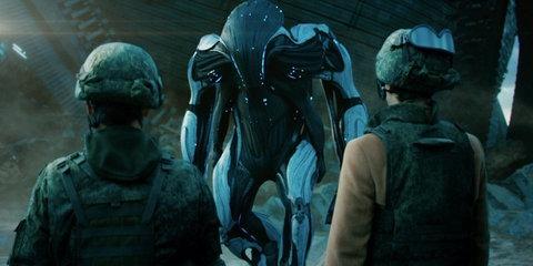 The colonel & the bureaucrat meet an alien. Nothing like a little first contact.