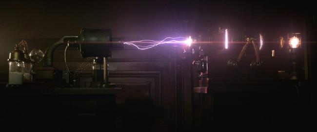 The spirit machine in action. That Edison knew his stuff.