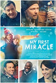 Movie poster. Note Charlie and his cello spreading a little Christmas cheer.