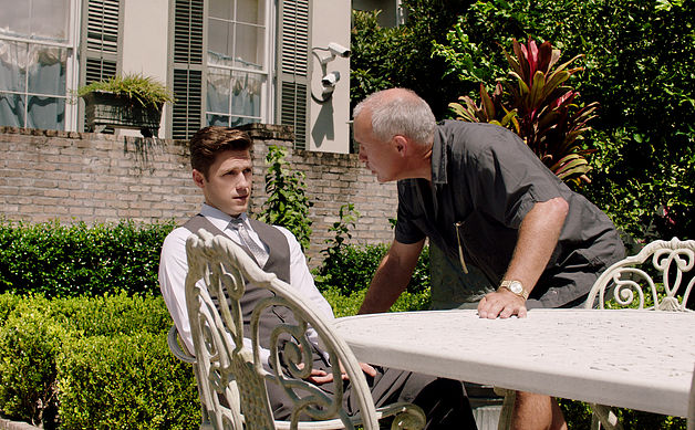 Tommy being yelled at by his boss, wishing he was anywhere but there.